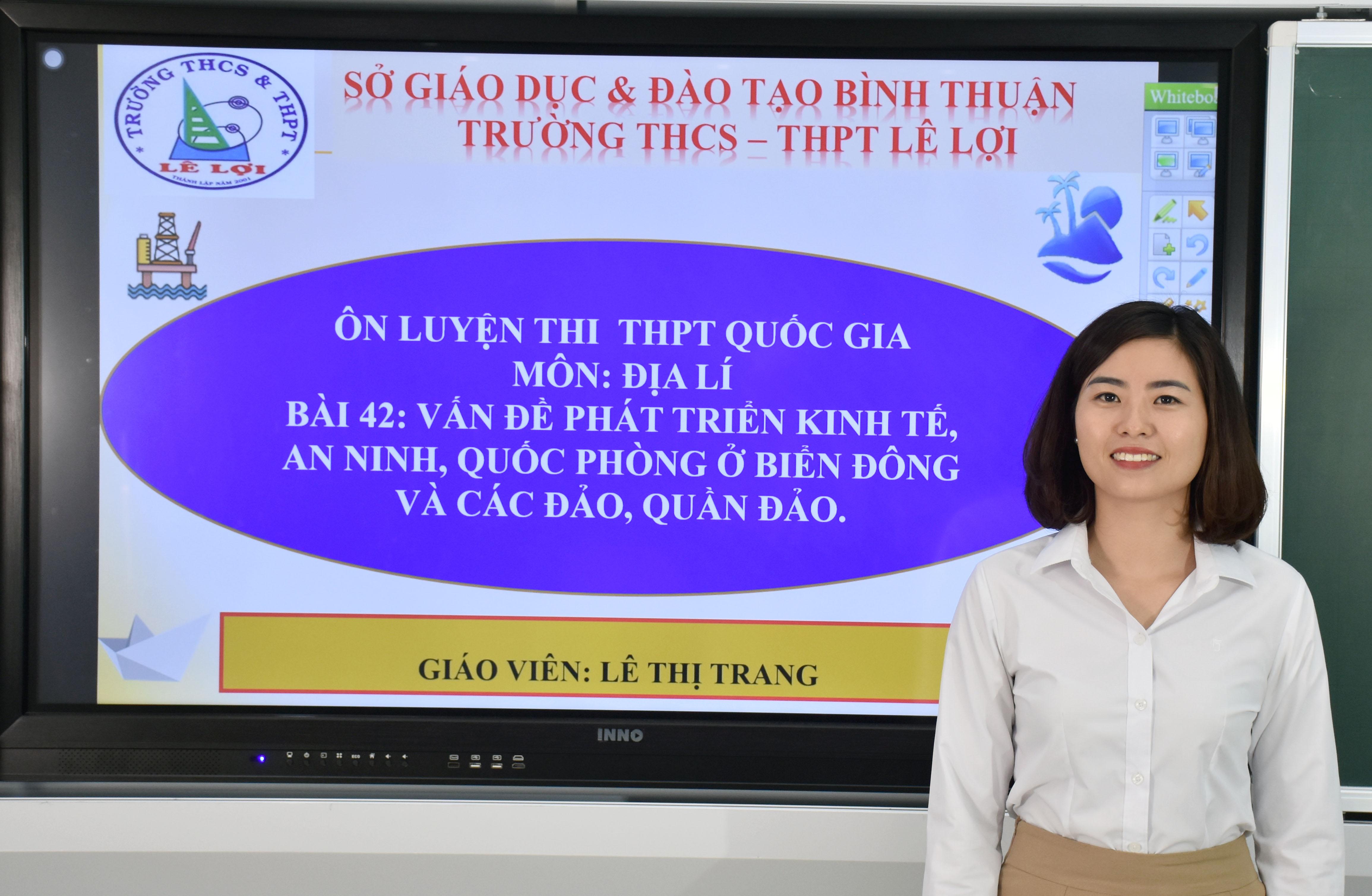 Khối lớp 12 - Vấn đề phát triển kinh tế, an ninh, quốc phòng ở biển Đông và các đảo, quần đảo - Cô Lê Thị Trang