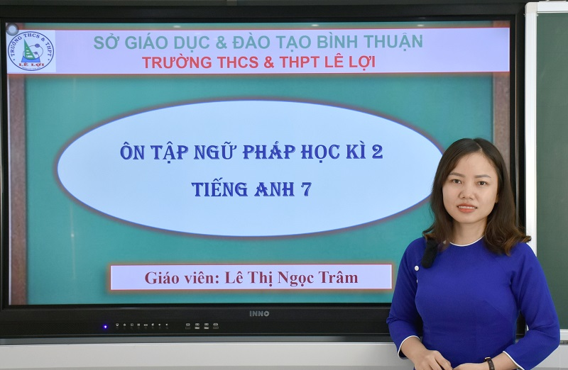 Khối lớp 7 - Ôn tập ngữ pháp học kì 2 - Cô Lê Thị Ngọc Trâm