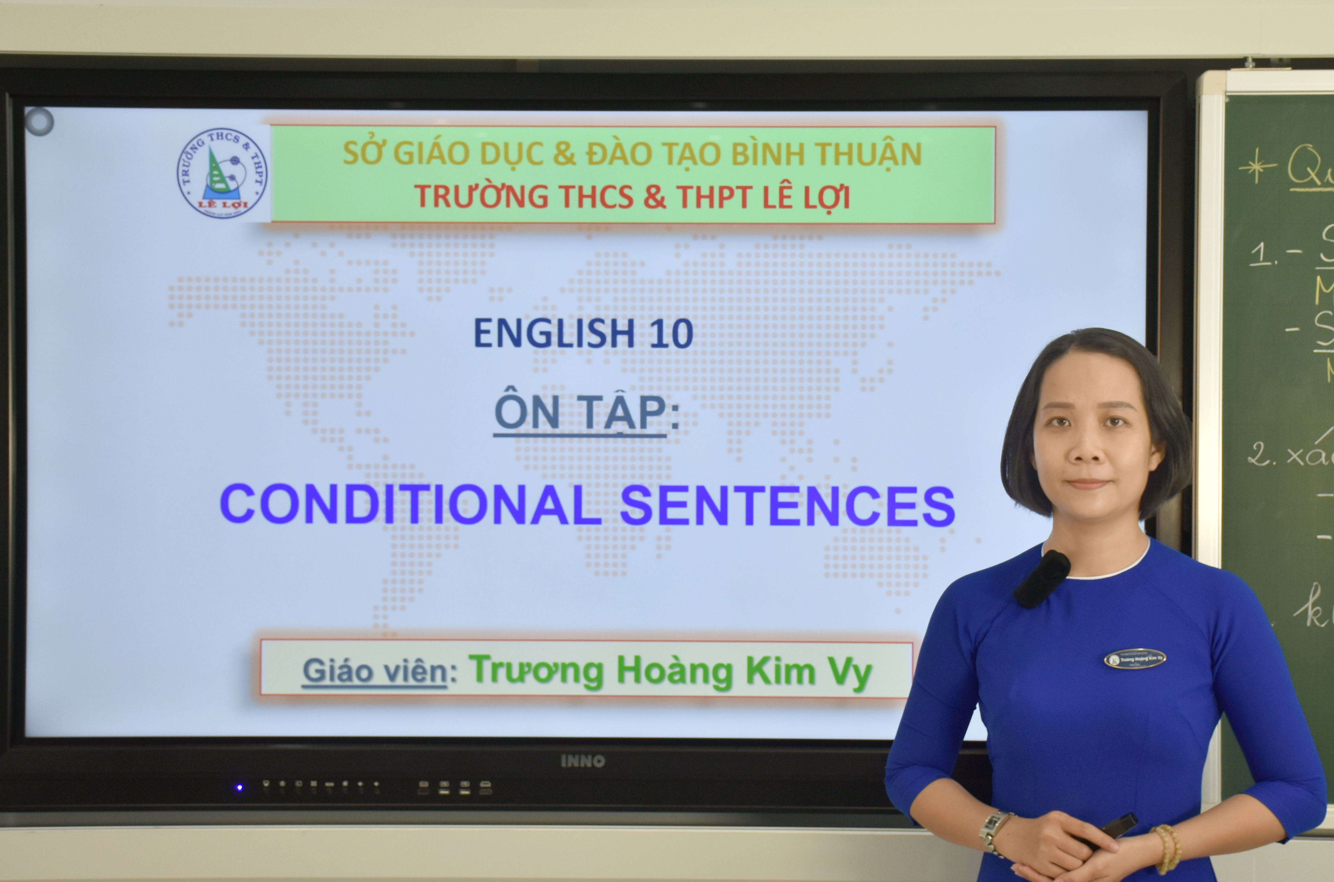 Khối lớp 10 - Conditional sentences - Cô Trương Hoàng Kim Vy
