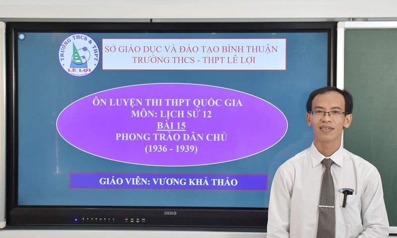 Khối lớp 12 - Phong trào dân chủ (1936 - 1939) - Thầy Vương Khả Thảo