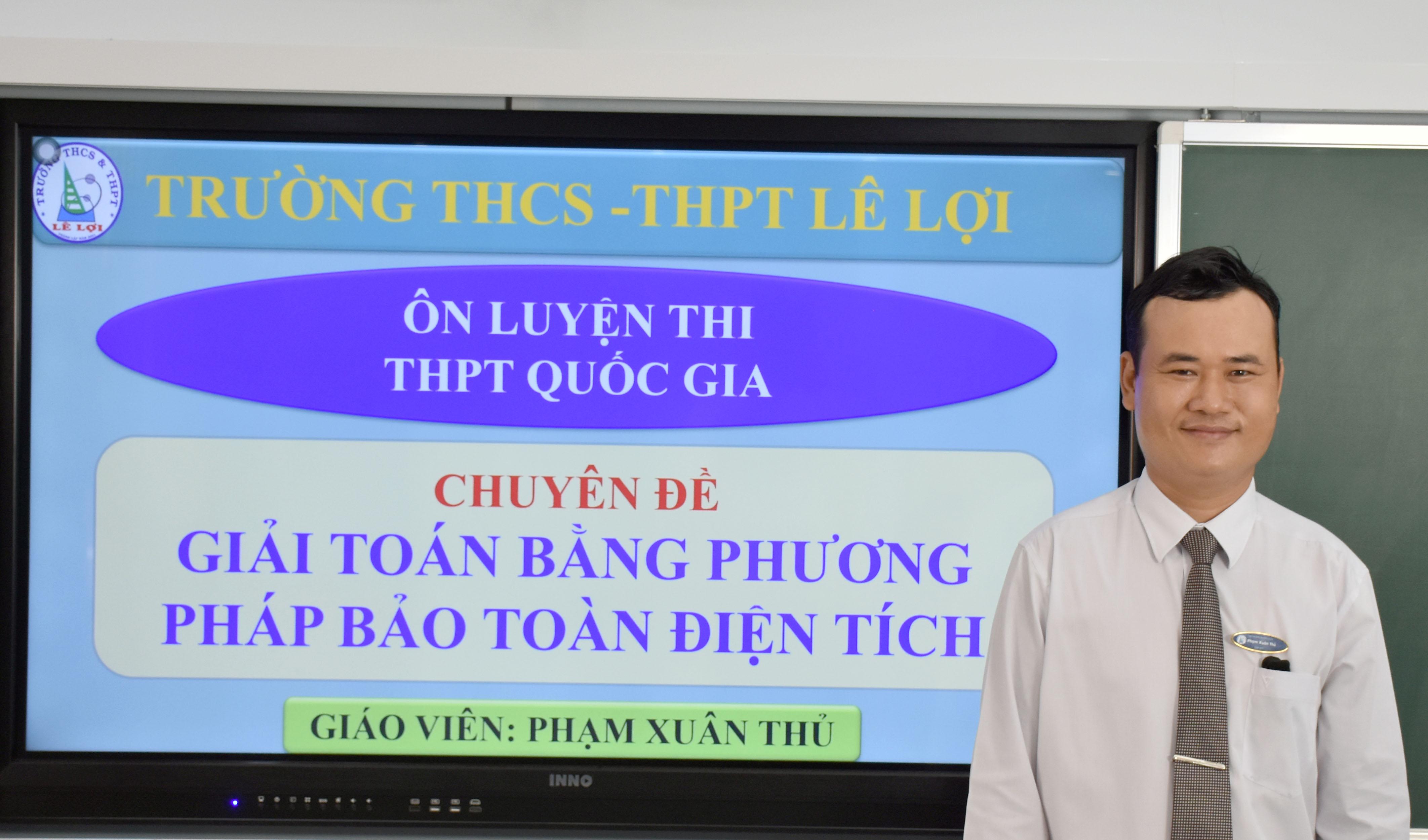 Khối lớp 12 - Giải toán bằng phương pháp bảo toàn điện tích - Thầy Phạm Xuân Thủ