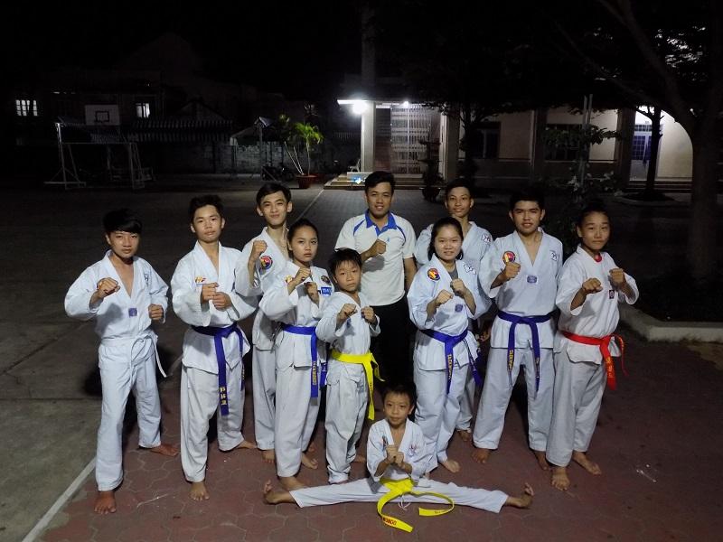 Thông báo của lớp võ Taekwondo - Khóa II/2020